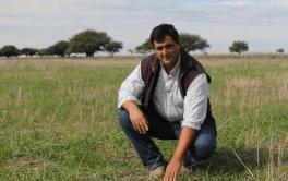 En La Pampa, una apuesta al manejo ganadero de punta, al calor del fuego