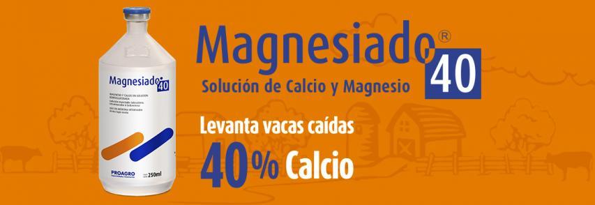 (Español) ¿Sabía ud. que ante un cuadro de HIPOCALCEMIA en su tambo Proagro cuenta con una formulación de Gluconato de Calcio 40%?