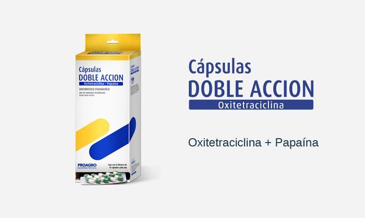 Cápsulas Doble Acción